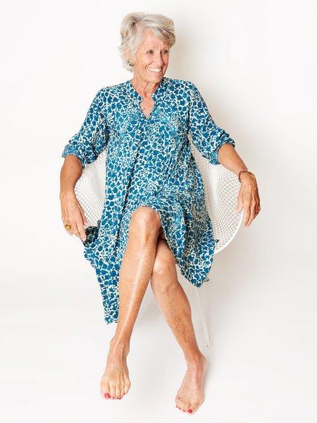 Natalie Martin Fiore Ivy Dress - Ocean