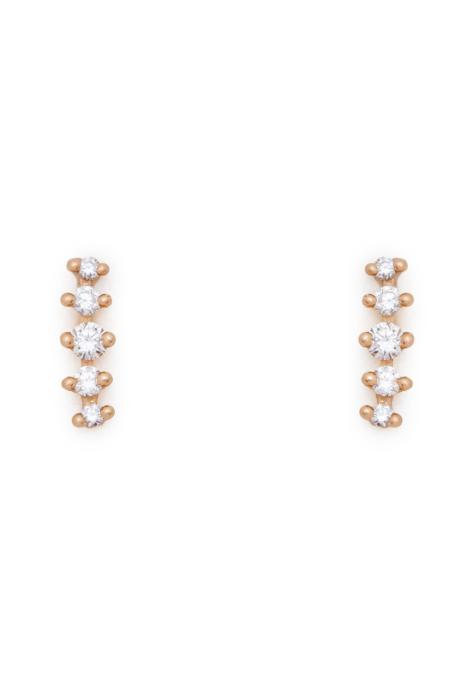 Valley Rose Meissa Ear Climbers EARRINGS - Diamonds