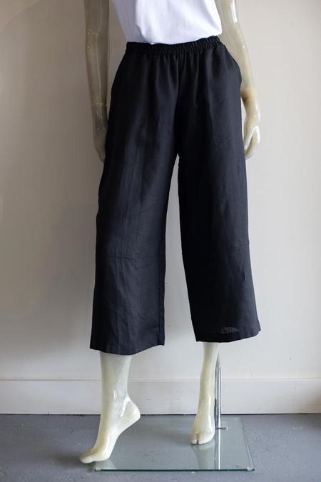 Planet Crop Linen Pants