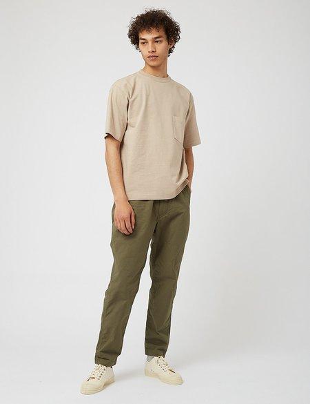 Snow Peak Heavy Cotton T Shirt - Beige