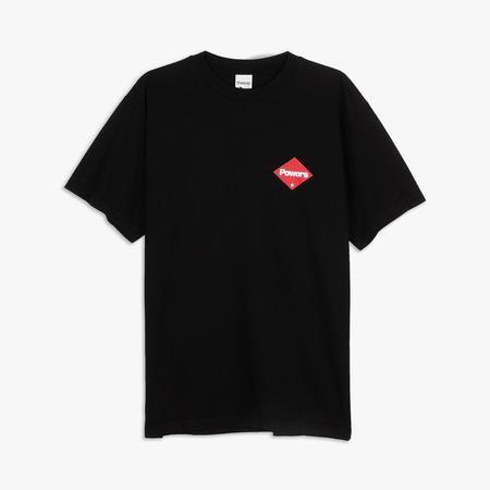 Powers Supply Diamond Logo T-shirt - Black