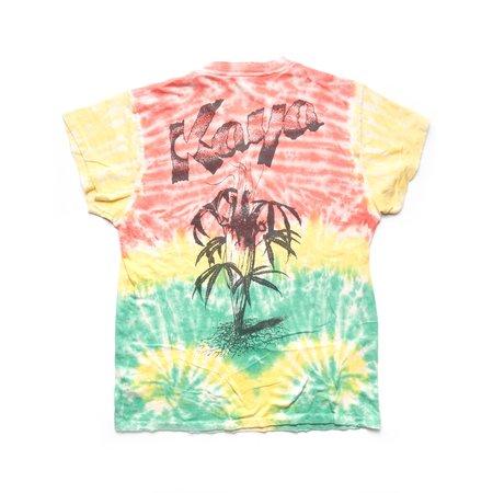 MadeWorn Bob Marley Kaya Tie Dye Tee - JAMAICA TIE DYE