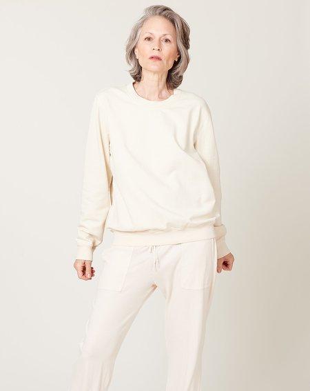 Raquel Allegra Perfect Sweatshirt - Dirty White