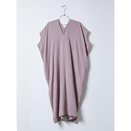 Atelier Delphine Long Crescent Dress - Desert Lavender