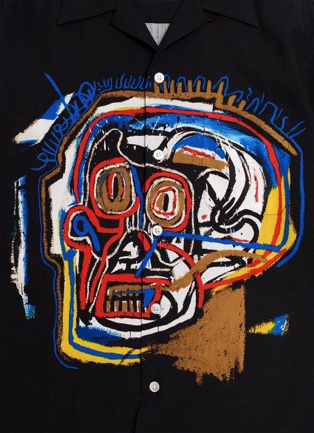 WACKO MARIA-GUILTY PARTIES Jean-Michel Basquiat S/S Hawaiian Shirt Type-1 - Multi