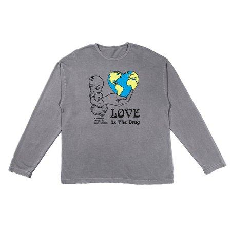 CRTFD High on Love LS Tee - Gray