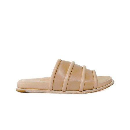 wal & pai lake shoes - nude