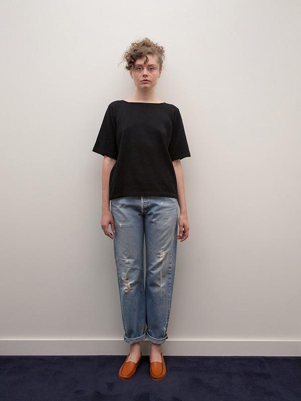 Lauren Manoogian Short T, Black