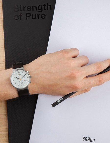 Braun BN0035 Watch - Black/White Face