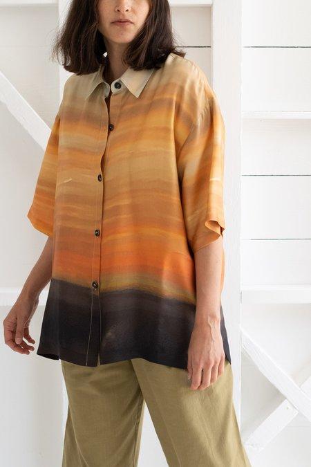 No.6 Leigh Shirt - Blue Sunrise