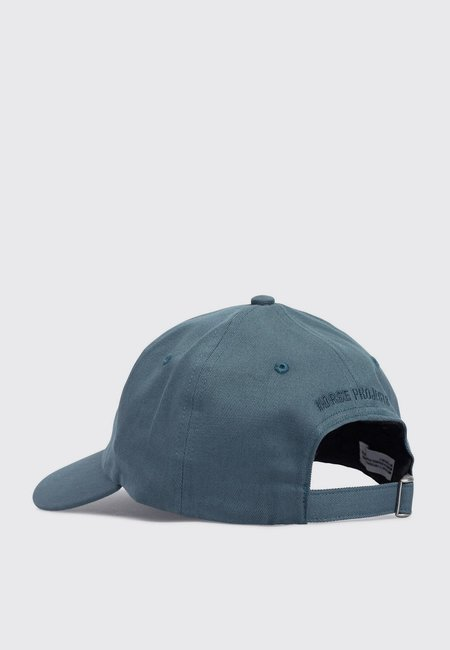 Norse Projects Twill Sports Cap - mineral blue