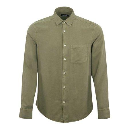 J Lindeberg Comfort Tencel Shirt - Olive