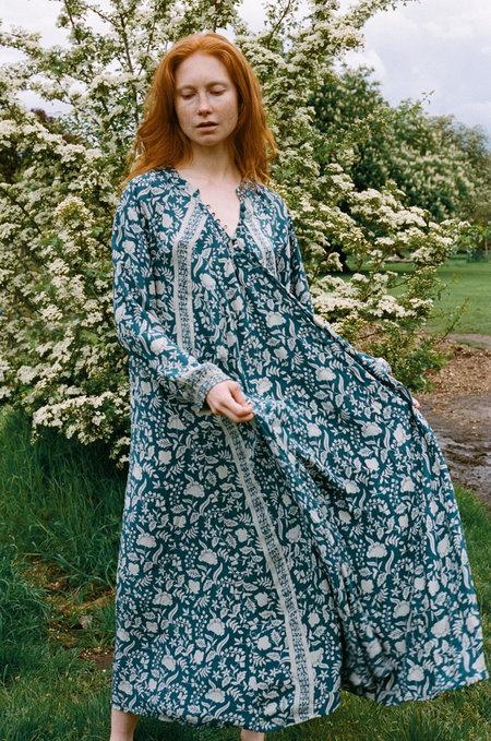 Natalie Martin Fiore Maxi Dress - Silhouette Shallows
