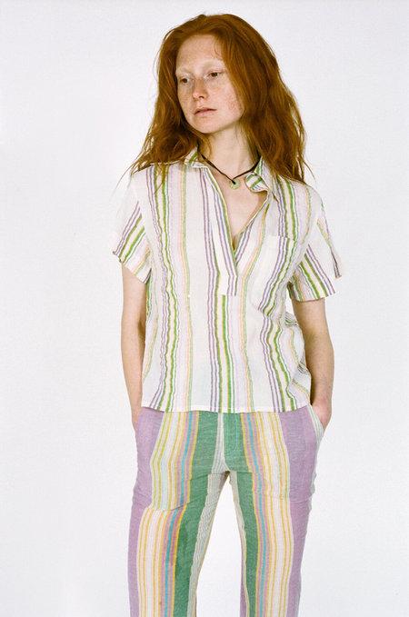 GIMAGUAS Diane Polo Shirt - White stripes