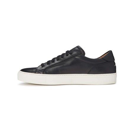 Unseen Footwear Helier Leather Sneakers - Black