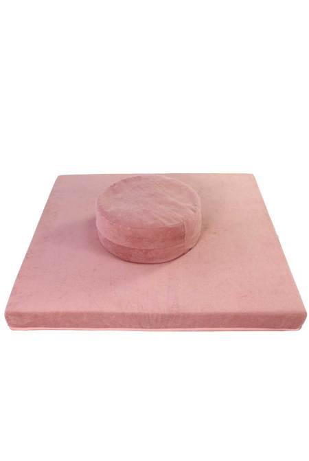 Oxygen Boutique Meditation Mat & Cushion - PINK