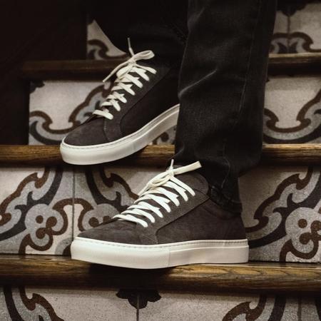 Unseen Footwear Helier shoes - Suede Grey