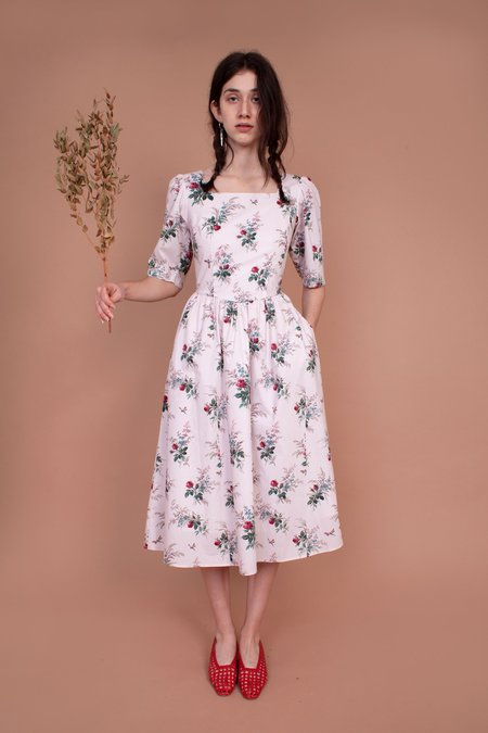 Meadows Caster Dress - French Floral