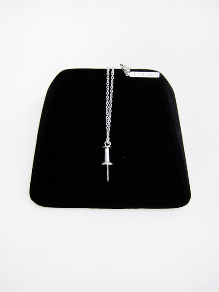 Lauren Klassen Single Tack Necklace
