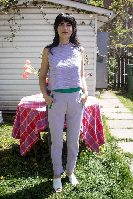 Odeyalo Pichai Track Pant - purple/green