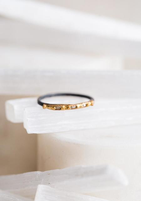 Variance Objects Baguette Diamond Band - 14KT-18KT Gold/Silver