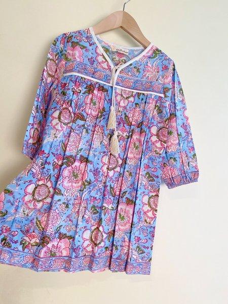 KIDS Stella Ray Mini Raya Gown DRESS - MULTI