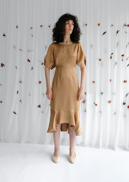 OhSevenDays FAULTY Bloom Dress - Copper