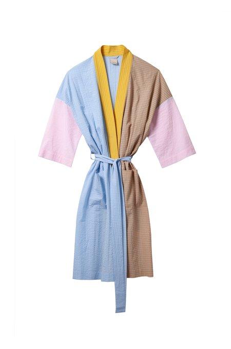 Soft Focus The Classic Robe -Rainbow Stripe
