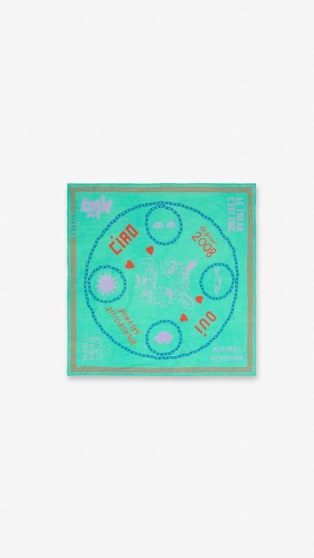 Clare V Iconic Bandana - Mint