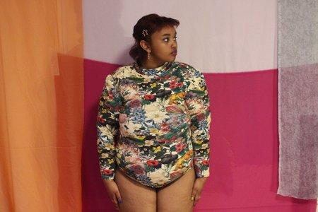 Samantha Pleet Turtle Bodysuit - Garden