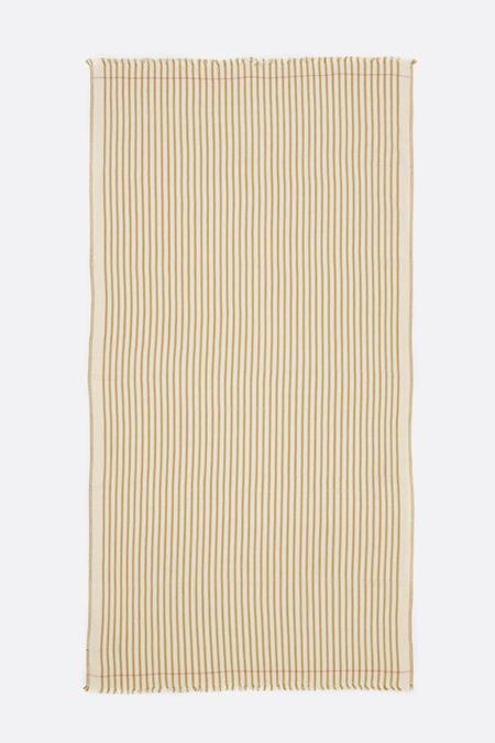 Moismont Summer Blanket - Tobacco Stripe