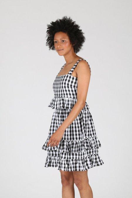 Tach Amaral Dress - Black Gingham