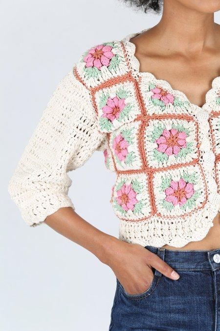 Tach Clothing Nuria Crochet Cardigan