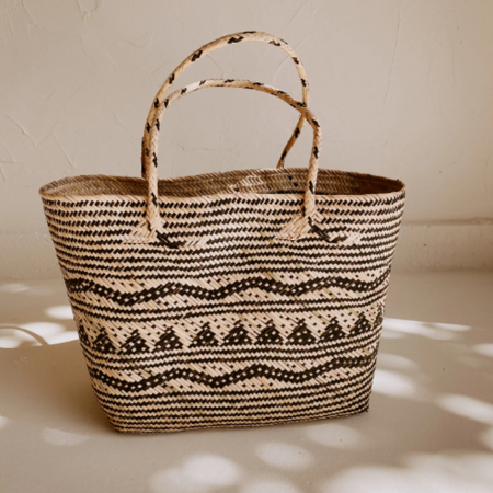 Village Thrive Avery Day Tote - Natural/Black