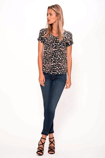 Primary New York Silk Tee - Leopard