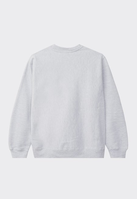 Powers College Arch Crew sweater - heather grey