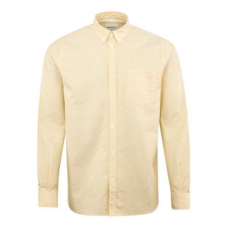 Norse Projects Anton Oxford Shirt - Lemon
