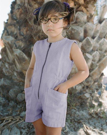 Kids Noble Organic Tank Suit - Lavender