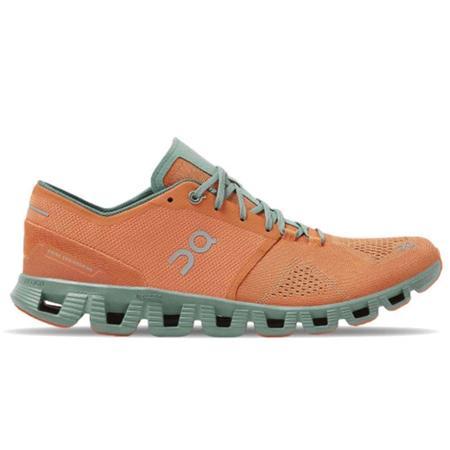 ON Running Cloud X Sneakers - Orange/Sea