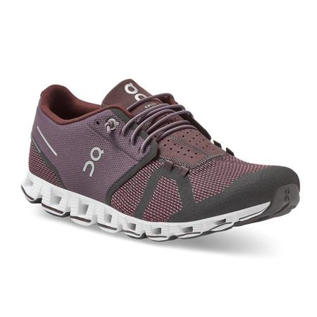 ON Running Cloud Sneakers - Pebble/Raisin