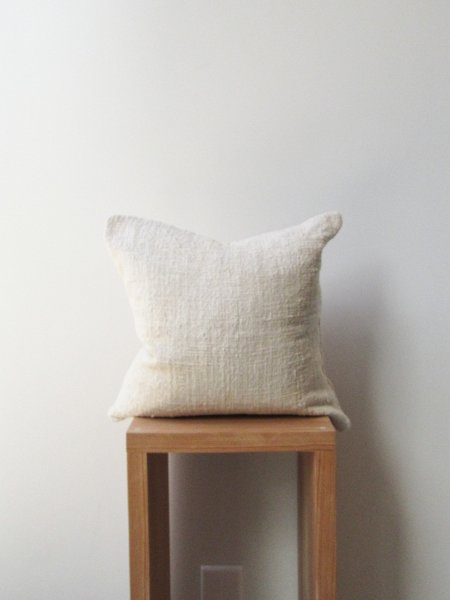 at Dawn. Herb Dyed Pillow Case - Natural
