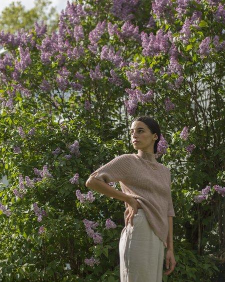 Daeza Spring Rib Top - Lilac