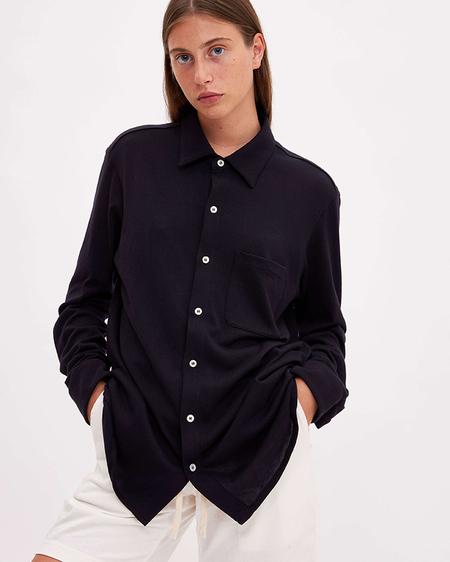 Bellariva Cotton Shirt - Blue