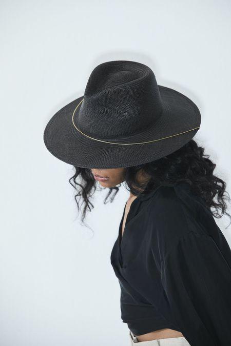 Janessa Leone Calder Hat - Black