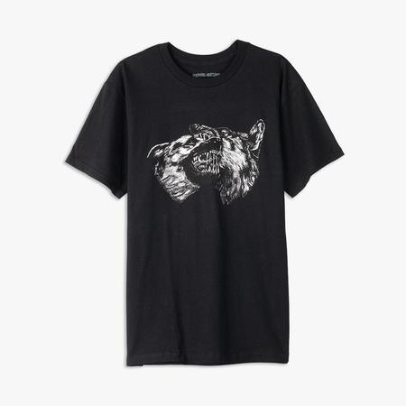 supra distribution Fucking Awesome Dogs T-shirt - Black