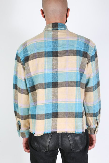 John Elliott Hemi Oversized Shirt - Santa Fe Plaid