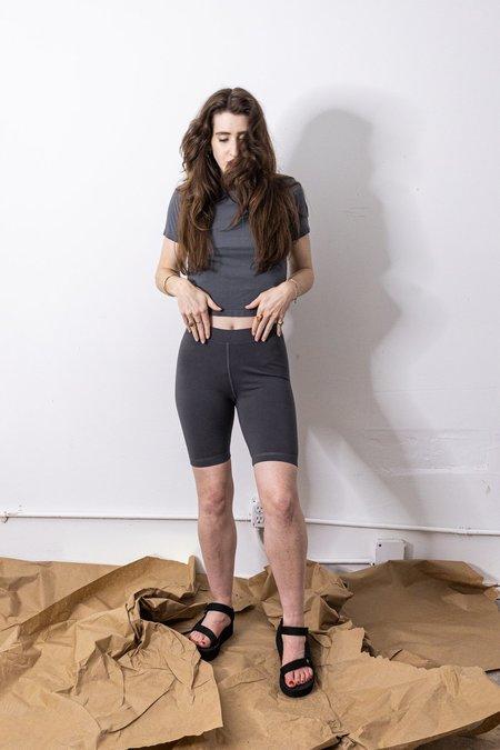 Back Beat Co. Organic Cotton Biker Shorts - black