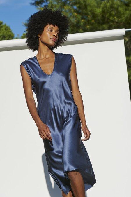 KES Cap Sleeve Slip Dress - Iris