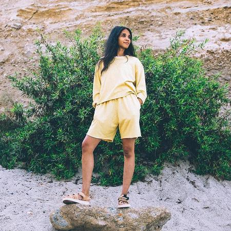 Nico Nico Woman Anja Sweatshirt - Sunrise Yellow