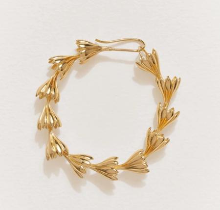 Pamela Love Anemone Bracelet - 14k gold over brass